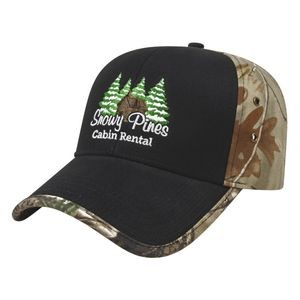 Solid Front Next G2� Camo Back Cap